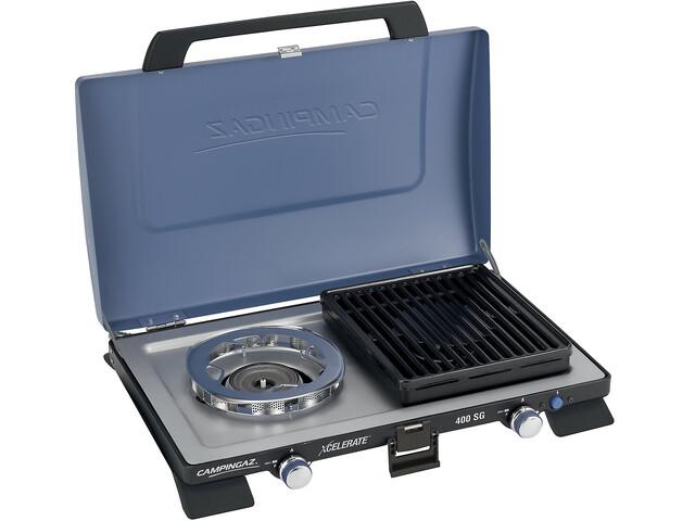 Campingaz 400 SG Cocina dos fuegos, blue